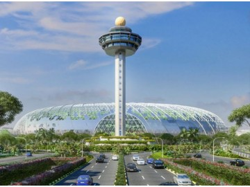 SolarGy wins yet another solar project of architectural significance : Jewel Changi Airport