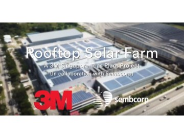 SolarGy accomplished yet another mega watt solar project for Sembcorp Solar at 3M Innovation