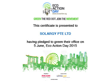 SolarGy pledged to green their office on Eco Action Day