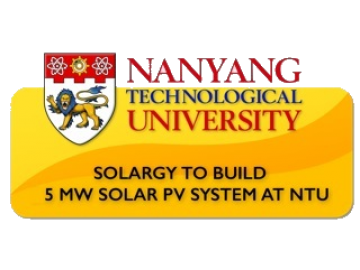 SolarGy to build 5 MW solar project at NTU